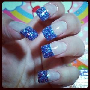 Blue Glitter Mix